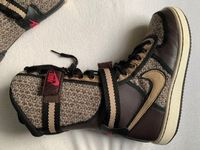 Nike Stiefel 36.5, Leder, Wolle, Gold