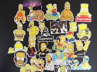 THE SIMPSONS AUFKLEBER / STICKERS 4