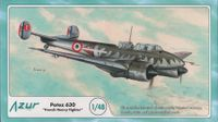 1/48 Potez 630 Swiss Air Force Azur A057