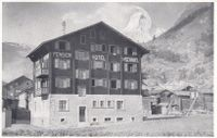 Zermatt  VS  -   Hotel-Pension MISCHABEL