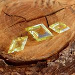 Lemon QUARTZ QUARZ Set 12.35 Karat