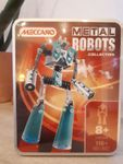METAL ROBOTS COLLECTION turquoise  NEUF