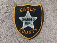 Early County Sheriff's Dept. // Patch