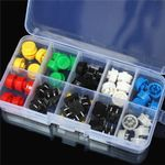 12mm Tactile Switch Taster Kit in Box
