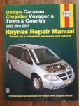 Reparaturbuch Chrysler Voyager 2003-2007
