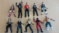 10 WWE Action-Figuren