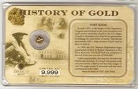 U.S. History of Gold: FORD KNOX #022