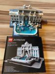 Lego Trevi Fountain ab 1.-