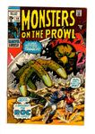 MONSTERS ON THE PROWL #10 (Marvel, 1971)
