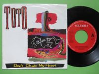 """TOTO 7"""" DON'T CHAIN MY HEART"""