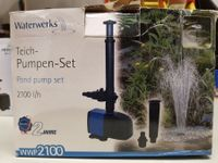 Pumpen-Set Indoor Brunnen  2100l/h