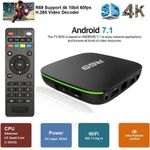 TV Box Android 7.1 Box WiFi Suport 3D 4K