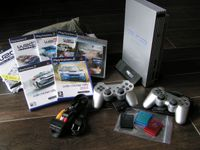 PS2 silver Packet mit WRC  Collection
