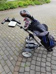 Golf Set inkl. Bag und e-Trolley