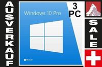 Microsoft Windows 10 Professional (3 PC)