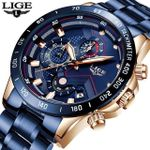 LIGE 2020 New Fashion Mens Watches