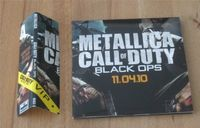 METALLICA: Call of duty Black OPS CD