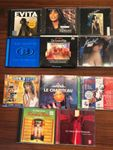 13 CD's Soundtrack und Sampler