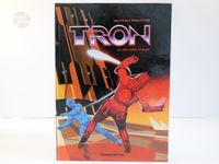 TRON Pop-Up Book Vintage 1980s Disney