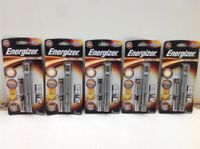 5x Energizer Metall Taschenlampe LED