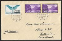 1938 Brief BUCHS SG B1 2mal + F22 ab 1.-