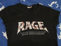 Rage anniversary girlie t-shirt NEW
