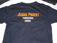 Judas Priest 2005 original tour t-shirt
