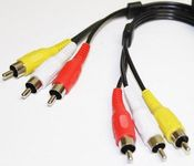 RCA cable 3x RCA Audio Video RCA Cable