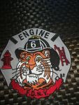 FDNY FIREFIGHTER PATCH - ENGINE 6