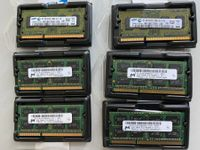 6x 2GB Notebook Memory