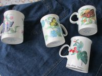 4 TASSE 3 DUCHESS BONE CHINE ENGLAND