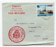 England Forces Air Letter Ghana-Wien