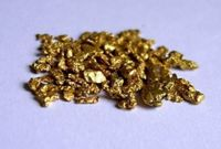 4 GOLD  NUGGETS - Bering Sea