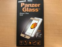 i Phone 7 Plus Gold Panzerglass