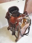 Tucker Old West Trail Saddle 277 16,5""
