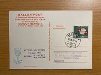1959-18 Private Ballonpost