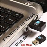 USB Wifi mini Adapter 600 Bmps schnell