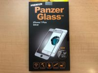 iPhone 7 Plus Silver Panzerglass