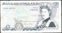 5 POUNDS / ENGLAND ND (1988-91)
