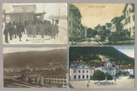 ST. IMIER, 7 CARTES, GARE, FUNICULAIRE+