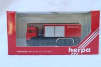 """Herpa Iveco Abrollcontainer """"Feuerwehr"""""""