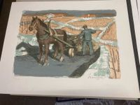 (47) STAUFFER Fred Litho sign/nr