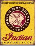 Indian Motorcycles Since 1901 Tin Sign