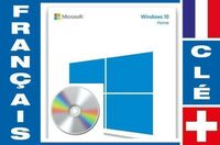 Windows 10 Famille français DVD amorçabl