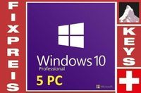 Windows 10 Professional (5 keys)