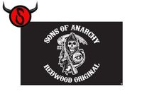 Fahne Flagge- Sons of Anarchy
