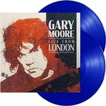 Gary Moore Live from London 2LP Blue Vin
