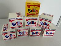 Brillo Wooden Blocks Andy Warhol