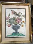 Antique watercolors lot of two