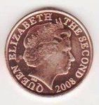 JERSEY 1 PENNY 2008 (UNC)